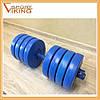 Гантели разборные (наборные) битумные Atlant  2 шт по 17 кг