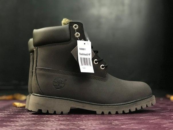 cb647b160b67 Женские ботинки Timberland Dark Brown Fur на меху топ реплика -  Интернет-магазин обуви и