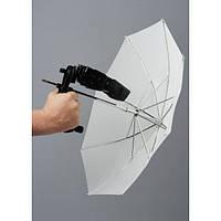 Зонт 50cm + ручка-держатель вспышки Lastolite Brolly grip kit (2126)