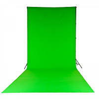 Фон тканевый LASTOLITE LL LC5881 Chromakey Curtain 3x7m Green