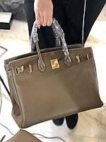 Роскошная женская сумка Hermes Birkin 35 см