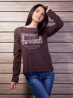 Женская кофта с принтом p.44-48 VM2137-3