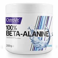 Бета-аланин OstroVit Beta Alanine 200 грамм (чистый)