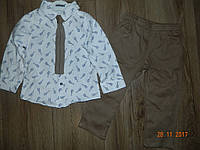 Нарядные костюмы для мальчика с галстуком на 2,3,4.5 лет
