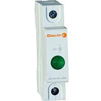 Светосигнальный индикатор AD22M зеленый LED, 230В DIN-рейку Electro