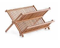 Сушилка для посуды бамбуковая, Zeller 25341
