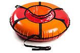 Сани - тюбінг tubing Donut з блискавкою 80 см (кольори в асортименті) Стандарт, фото 6