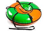 Сани - тюбінг tubing Donut з блискавкою 80 см (кольори в асортименті) Стандарт, фото 4