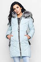 Женская зимняя куртка удлиненного кроя