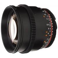 Объектив Samyang 85mm T1.5 AS IF UMC VDSLR Nikon