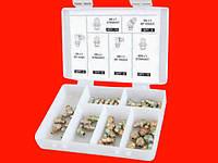 Набор пресс-масленок для смазки 110 шт. Groz 43971 GFT/KIT/M-110