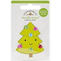 Наклейка 3D - Doodlebug - Sugarplums Merry Tree