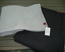 """Комплект з 2-х пледів """"RELAX """"  160х210 , колір графіт ,  сірий меланж"""