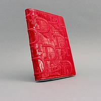 Обложка для паспорта кожаная женская Christian Dior 6744