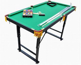 Мини бильярд складной, бильярдный стол мини 4 ft. детский с железными опорами, фото 2