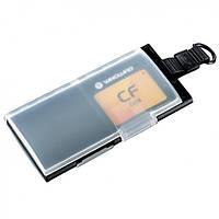 Пластиковый чехол для карт памяти CF MCC 41