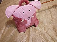 Детский плед-подушка-игрушка-сумочка