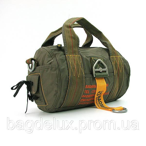 Сумка на плечо хаки Волонтер текстильная 3032 - Bag De Lux - Интернет магазин сумок в Харькове