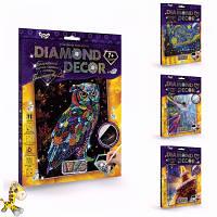 Творчество. Живопись алмазная Diamond Mosaic большая