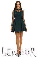 Гламурное платье с фатиновым подъюпником, фото 1