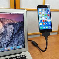 Кабель и адаптер FuseChicken USB Cable to Lightning Bobine Blackout Everywhere Mount (LV8-100)