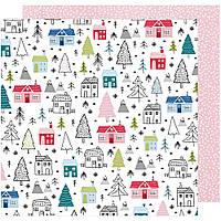 Папір - American Crafts - Sweater Weather -  Winter Wonderland