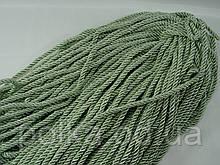 Шнур (канат) декоративный зеленый, ширина 5мм, цвет фисташковый (1уп-100ярдов=92метра)