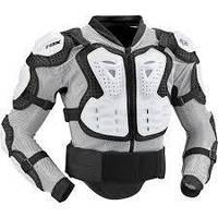 Мотозащита тела FOX Titan Sport Jacket белая, M