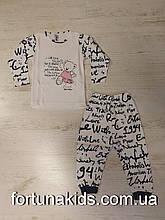 Пижама для девочек Vitmo 1-3 года, Турция