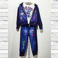 Зимний спортивный костюм для девочки