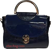 Женская сумка через плечо с ручкой-кольцо