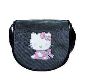 Сумка на плечо Hello Kitty Черная K48026 (26х25х9 см.) купить оптом от производителя