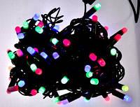 Гирлянда уличная 10м , LED 100 мультиколор ПВХ К-63