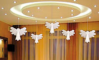 Рождественский декор - ангелочек (подвесной)