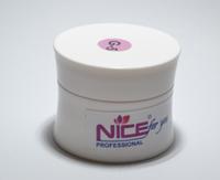 Камуфлирующий гель для наращивания Nice G-5 (розовый) 15гр