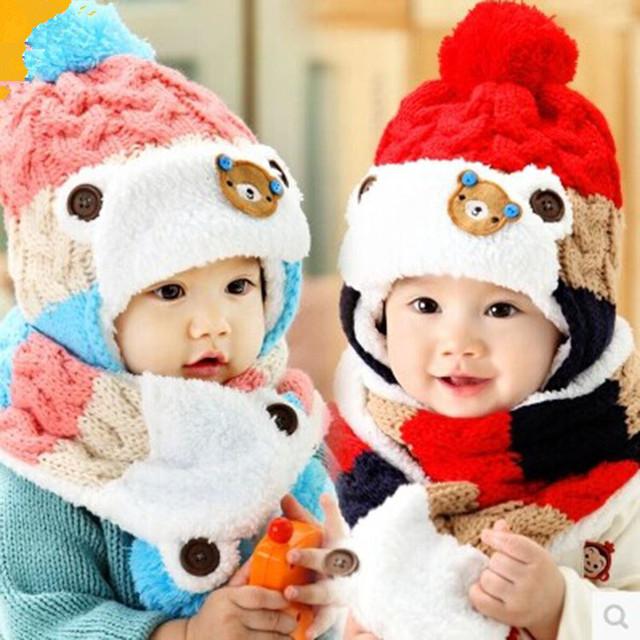 Комплекты детские зимние (шапочка со снудом)