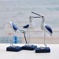 Средиземноморский стиль украшений творческого птиц мебелью украшения
