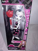 Шарнирная кукла монстер хай с аксессуарами