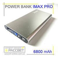 Внешний аккумулятор Power bank IMAX pro 6800 mAh (для телефона, смартфона, планшета), фото 1