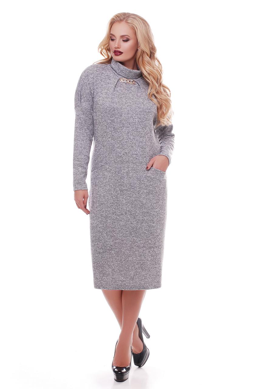 Длинное платье Алиса жемчуг
