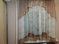 """Тюль для кухни """"Вероника"""", фото 1"""