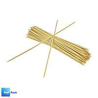 Палочки бамбуковые, 200 мм, d=2,5 мм, 100 шт/уп