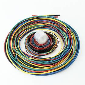 11 Размер 6 цветов 55м/набор полиолефин 2:1 безгалогенные термоусаживаемые трубки - 1TopShop