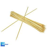 Палочки бамбуковые, 300 мм, d=2,5 мм, 100 шт/уп