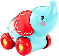 Fisher-Price Каталочка Забавные животные с прыгающими шариками слоник Poppity Pop Elephant, фото 1