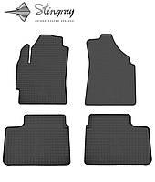 Резиновые коврики Stingray для Chevrolet Spark (M200/250) 2004 - комплект 4 шт.