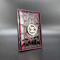 Обложка для паспорта кожаная женская Chanel 306-10840
