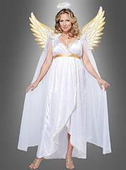 Карнавальное платье ангела, для пышных форм