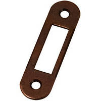 Ответная планка к замкам AGB под четверть коричневая В01000.40.22
