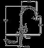 Смеситель TEKA VITA HP (VTK 938) хром, фото 2